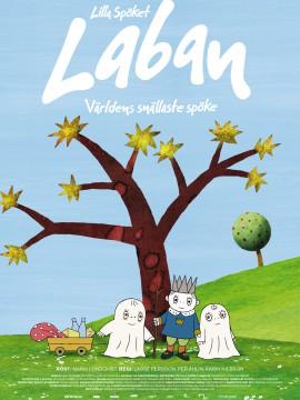 Lilla Spöket Laban - Världens snällaste spöke Affisch JPG