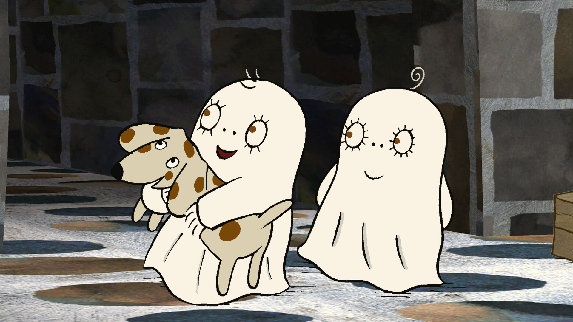 laban the little ghost � the nicest ghost around